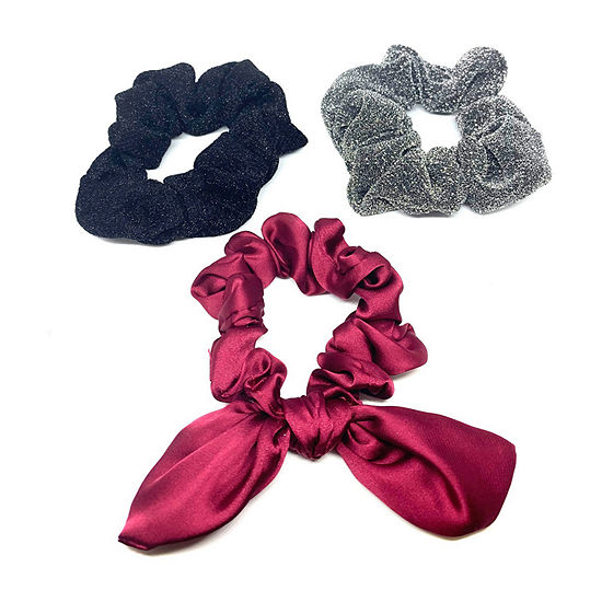Mixit Scrunchie 3-pc. Hair Ties
