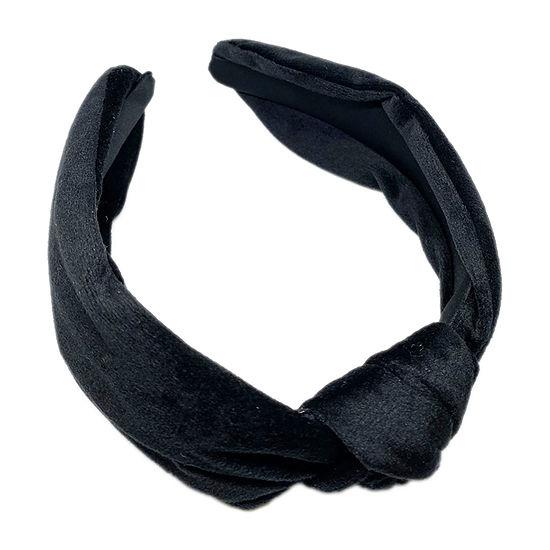 Mixit Black Velvet Headband