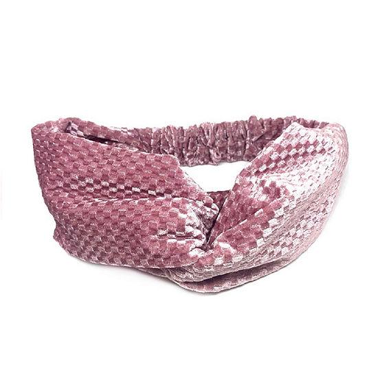 Mixit Pink Velvet Hair Wrap
