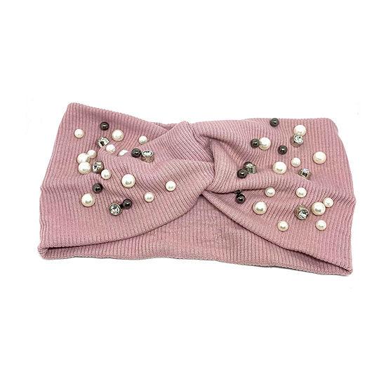Mixit Pink Beaded Hair Wrap