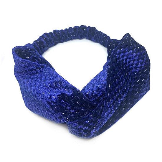 Mixit Blue Velvet Hair Wrap