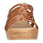 Easy Street Womens Luciana Wedge Sandals
