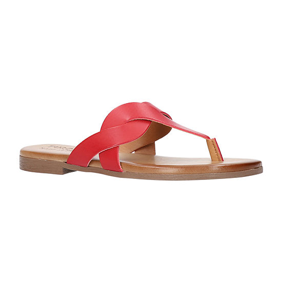 Easy Street Womens Abriana Flat Sandals