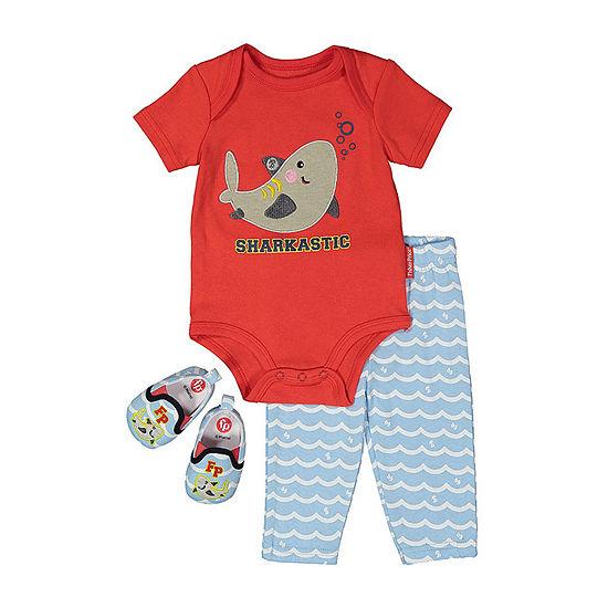Fisher-Price Baby Boys 2-pc. Pant Set