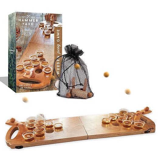 Hammer Axe Wooden Pong Game Gift