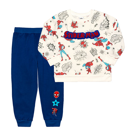Toddler Boys Spiderman 2-pc. Pant Set