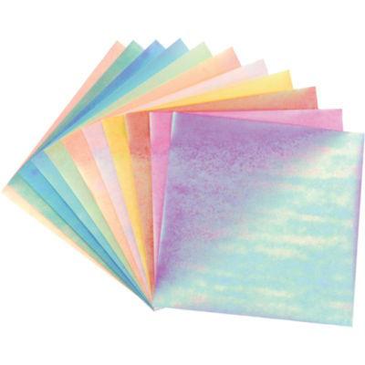 Folia Textured Iridescent Origami Paper