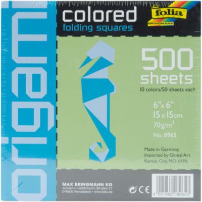 Folia Assorted Origami Paper