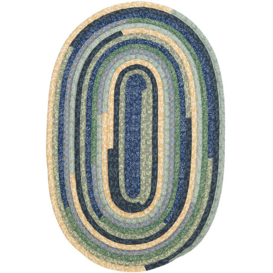 Colonial Mills® Garden Grove Reversible Braided Oval Rug