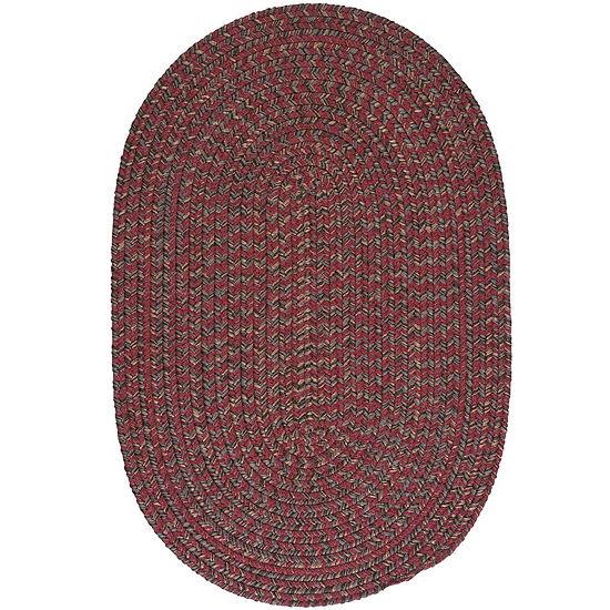 Colonial Mills® Grafton Tweed Reversible Braided Oval Rug