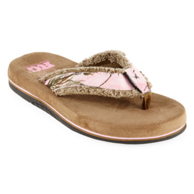 Realtree® Bliss Womens Flip Flops