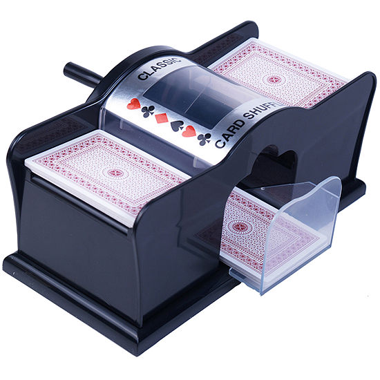 Manually Operated Card Shuffler