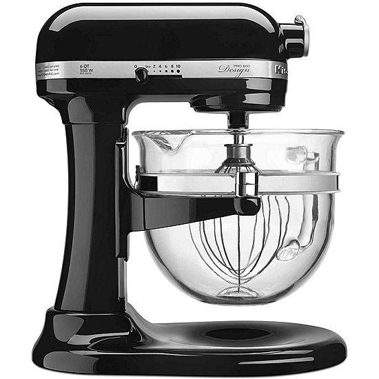 KitchenAid® Pro 600™ Design Series 6 Quart Bowl-Lift Stand Mixer KF26M22