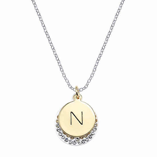 Sparkle Allure Crystal 18 Inch Pendant Necklace