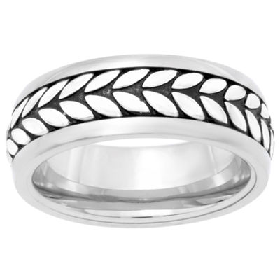 Mens 7mm Stainless Steel Band