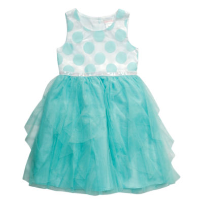 Young Land Sleeveless Party Dress - Toddler Girls