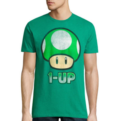 Short Sleeve Super Mario Graphic T-Shirt