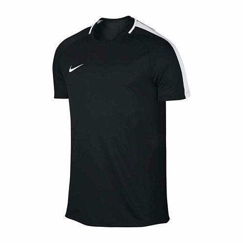 Nike Academy Short Sleeve Crew Neck T-Shirt