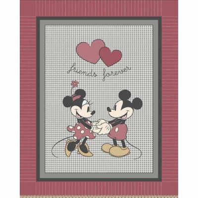 Disney Mickey Minnie Fleece Throw Kit