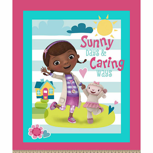 Doc Mcstuffins Sunny Caring Panel Fabric