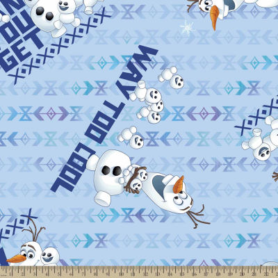Disney Frozen How Cool Fleece Fabric By The Yard