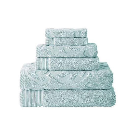 Pacific Coast Textiles™ Medallion Swirl 6-pc. Bath Towel Set
