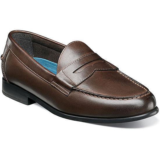 26a3717bc92b3 Nunn Bush Drexel Mens Moc Toe Dress Penny Loafer Shoes - JCPenney