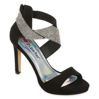2 Lips Too Too Damien Womens Heeled Sandals