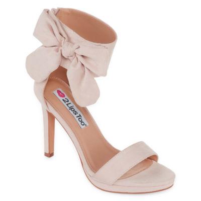 2 Lips Too Womens Too Dawn Heeled Sandals