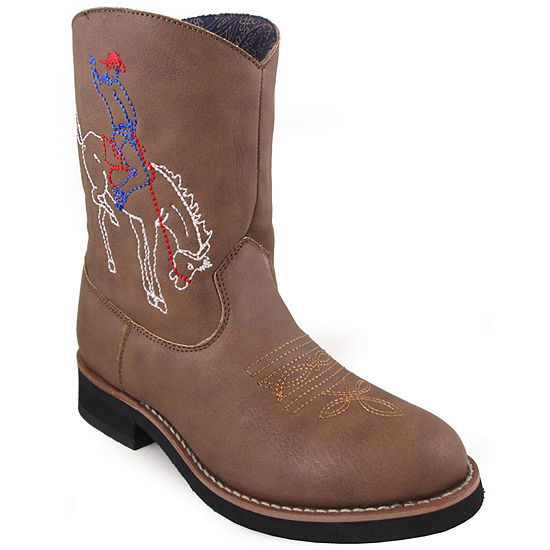 Smoky Mountain Unisex Kids Cowboy Boots Pull-on