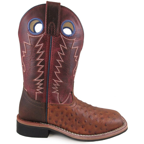 Smoky Mountain Kid's Cheyenne Crackle Leather Cowboy Boot