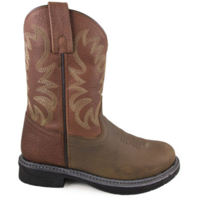 Smoky Mountain Kid's Buffalo Wellington Cowboy Boot
