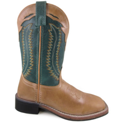Smoky Mountain Kid's Frank Bomber Leather Cowboy Boot