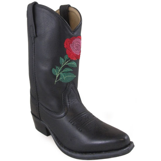Smoky Mountain Girl's Rosalito Leather Cowboy Boot