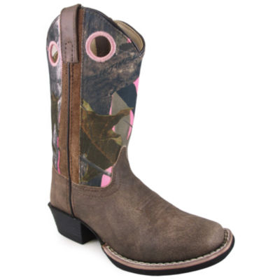 Smoky Mountain Kid's Mesa Distress Leather Cowboy Boot