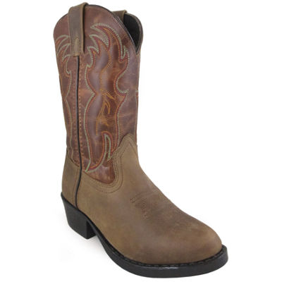 Smoky Mountain Kid's Tonto Distress Crackle Leather Cowboy Boot