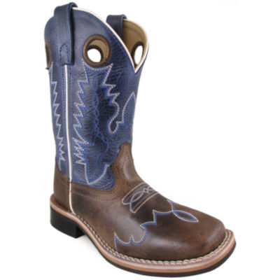 Smoky Mountain Kid's Delta Crackle Waxed DistressLeather Cowboy Boot