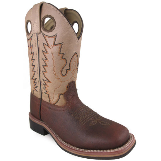 Smoky Mountain Kid's Jesse Leather Cowboy Boot