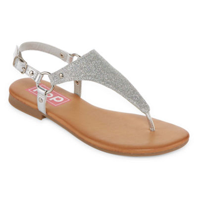 Pop Womens Adreana Adjustable Strap Flat Sandals