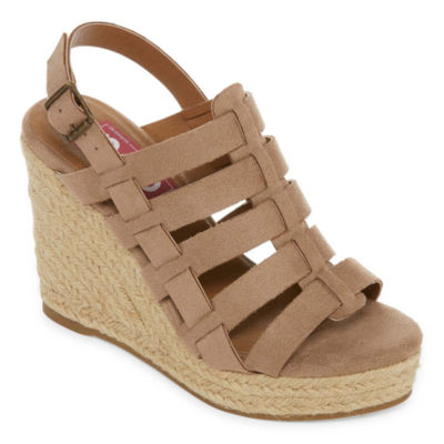 Pop Womens Cassandra Wedge Sandals