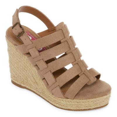 Pop Cassandra Womens Wedge Sandals