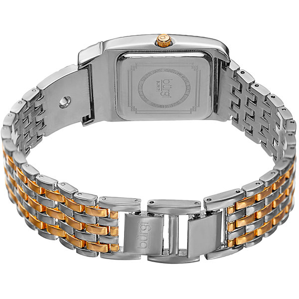 Burgi Unisex Two Tone Bracelet Watch-B-171ttg