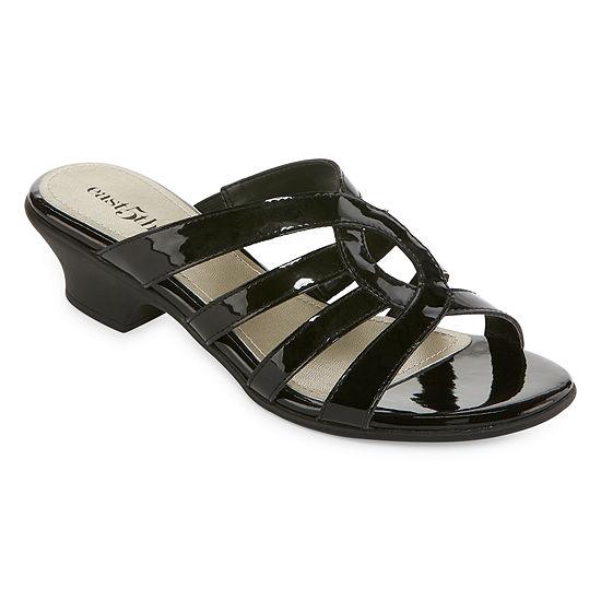 east 5th Womens Elisha Slide Sandals
