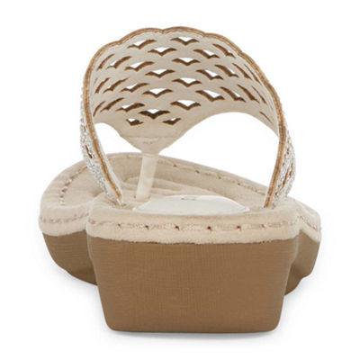 St. John's Bay Cecily Womens Wedge Sandals