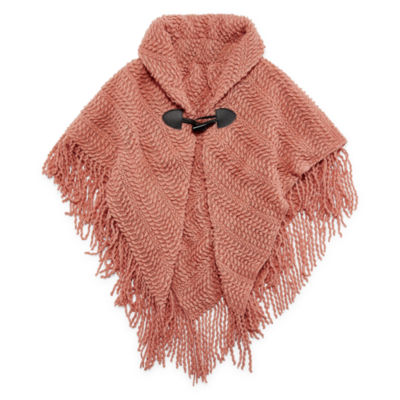 Mixit Mommy and Me Girls 4-6 Toggle Poncho