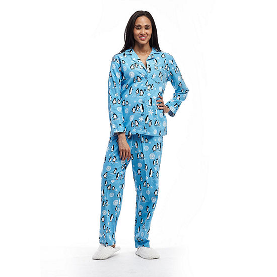 La Cera Long Sleeve Flannel PJs