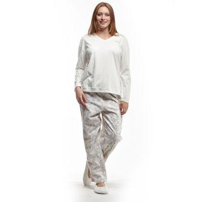La Cera Knitted Flannel PJs