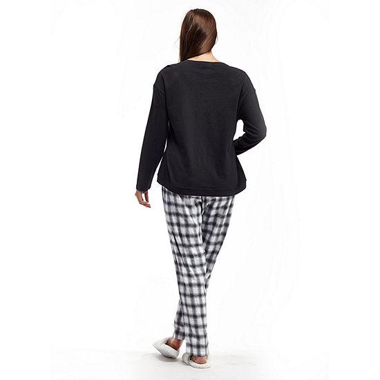 1d6d6a8567c La Cera Plus Size Checkered Flannel PJs JCPenney