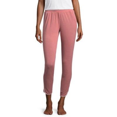 Flirtitude Terry Cloth Pajama Pants-Juniors