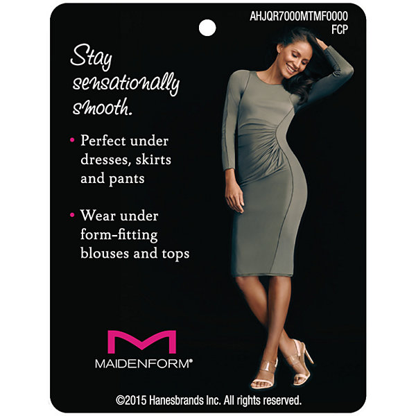 Maidenform Lace Trim Firm Control Body Shaper - 1456